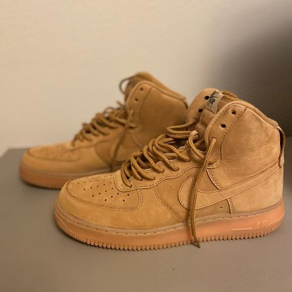 Nike Shoes | Wheat Nike Air Force High